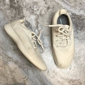 Allbirds Womens Wool Runners Size 9 Natural White